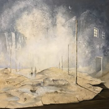 Terra incognita – Aufbruch ins Anderland - Peter Klonowski - oil painting