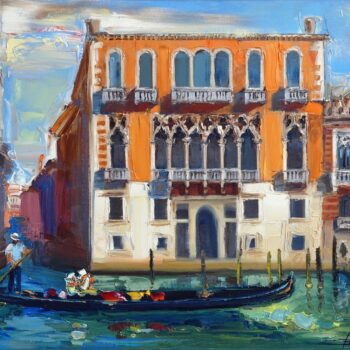Venice 15 - Mykola Bodnar - oil painting