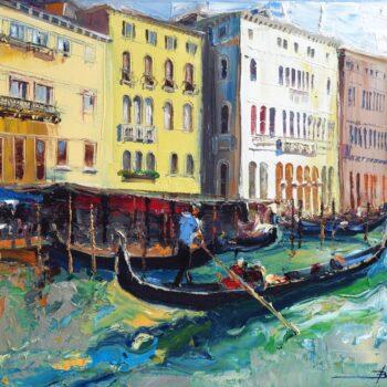 Venice 4 - Mykola Bodnar - oil painting