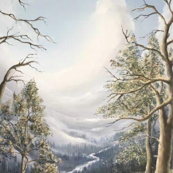 Weite und Frieden - Peter Klonowski - oil painting