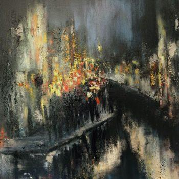 Zyklus Ante Pante – Ante Pante I. - Karl Vejnik - oil painting