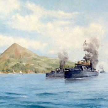 Kotorská zátoka, léto 1908 - Václav K. Killer - oil painting