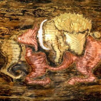 Lovec I. - Ivan Patúc - relief